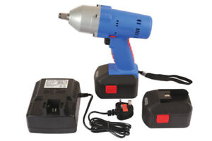 Stock Clearance Laser Tools 6314 Impact Wrench Gun Cordless 1 2 Drive 18v