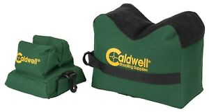 Caldwell DeadShot Boxed Front Rear Bag Rest 2 PC Hunting Gun Rifle Holder Shoot