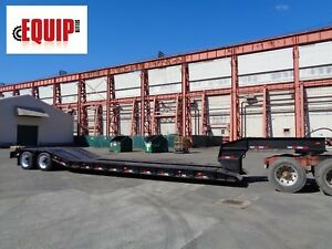 Rogers 35 Ton 48ft Detach Lowboy Rgn Equipment Flatbed Step Deck Trailer