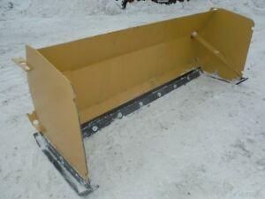 New 8 Ft Snow Pusher Plow Box Blade Skid Steer Loader Attachment
