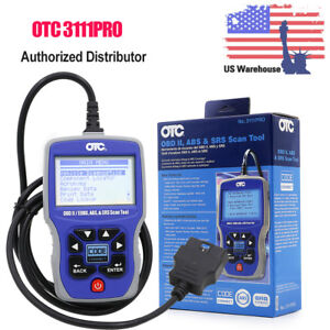 Us Ship Otc 3111pro Car Diagnostic Scanner Reader Tool Obd Ii can Abs Airbag