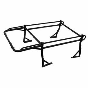 Adjustable Truck Contractor Ladder Rack W 30 Over Cab Pickup Utility 800lb