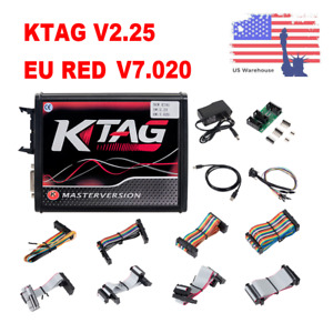 Ktag V2 25 V7 020 4 Led Online Master Version Obd Car truck Ecu Programmer Tool