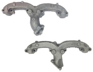 L r Pair 68 69 70 71 72 Exhaust Manifolds 283 327 350 Ram Horn Angled Dump