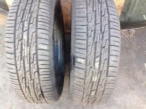 Two Used Tires Kelly Charger Gt 185 65 14
