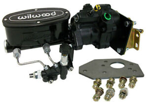 1960 62 Chevy Truck Hydro boost Power Brake Booster Kit With Wilwood Master
