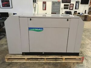 Generac Generator 40kw Ng lpg 1800 Rpm Sound Attenuated 100 Working