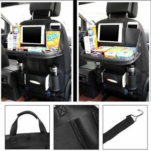 Auto Car Seat Back Multi pocket Storage Bag Organizer Holder Accessory Black Rt