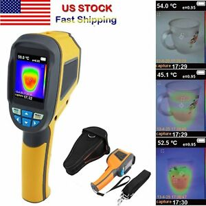 Handheld Thermal Imaging Camera Infrared Thermometer Imager Gun 20 To 300 Tx