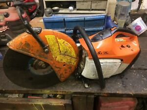 Stihl Ts420 Concrete Cut Off Saw runs Excellent