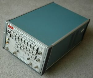 Tektronix Type 184 Time Mark Generator Calibration Works Great