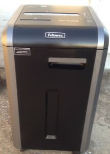 Fellowes Paper Shredder 100 Jam Proof 22 sheet Cross cut Commercial Grade 225ci