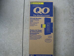 Qo140m200 Square D 200amp M Breaker 40 40 Panel With Flush Or Surface Cover