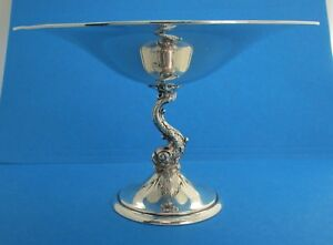 Redlich Sterling Silver Tazza With Dolphin
