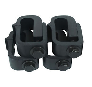 Set Of 4 Mounting Clamp For Truck Cap Camper Shell Topper Short Bed Pickup Truck
