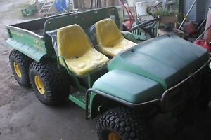 John Deere 6x4 Gator With Only 1650 Hours