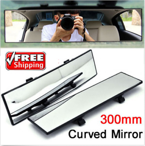 300mm Car Wide Angle Rearview Auto Curve Interior Rear View Mirror J