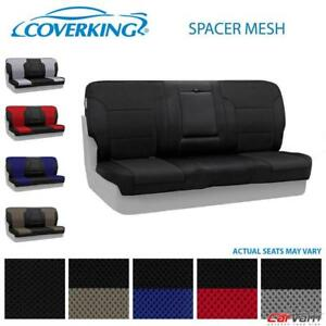 Coverking Spacer Mesh Front Custom Seat Cover For 2010 2011 Toyota Tacoma
