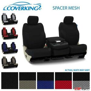 Coverking Spacer Mesh Front Custom Seat Covers For 2016 2018 Dodge Ram 1500