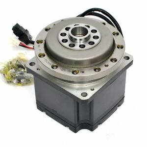 Mitsubishi Hc ufs73k Ac Servo Motor 750 Watts With Hd 100 1 Ratio Drive Gear