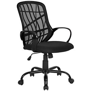 Greenforest Office Chair For Computer Desk Mesh Mid back Swivel Task With Design