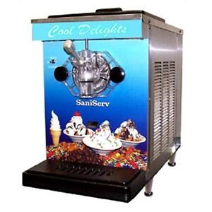 Saniserv Df200 7 Qt Soft Serve Ice Cream Machine Frozen Yogurt Local Pickup