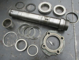 Logan 11 Lathe 2 1 4 X 8 Main Spindle Hardware Bearings Etc Free Shipping