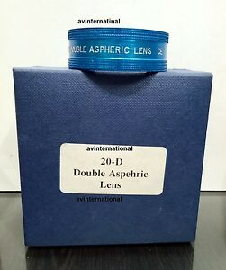 20 D Lens Aspheric Lens Ophthalmology Optometry Blue Color Best Quality