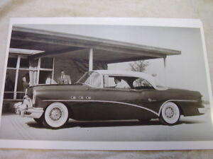 1954 Buick Special Hardtop With Factory Wire Wheels 11 X 17 Photo Picture