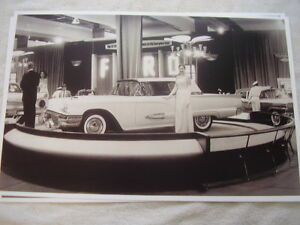 1959 Ford Thunderbird Auto Show Display 11 X 17 Photo Picture