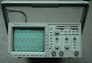 Tektronix Tds340a Digital Oscilloscope Calibrated Passed All Self Testing