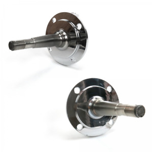1928 48 Ford Chrome Forged Spindles Pair
