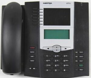 Lot Of 6 Aastra 53i Voip Office Phones