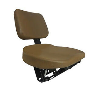 Buddy Seat For John Deere 6000 And 7000 Series Tractors Brown