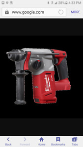 New Milwaukee 2712 20 M18 Fuel 1 Sds Plus Rotary Hammer sds Adapter tool Only