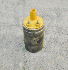 1965 1966 1967 1968 1969 1970 Mustang Gt Boss Shelby Cougar Orig Yellow Top Coil