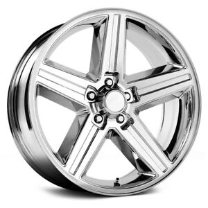 24 Inch Velocity 248t Iroc Chrome Wheels Rims Only Set Of 4