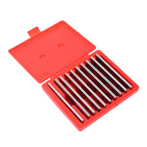 10 Pair 1 8 Precision Steel Parallel Set Parallels 0002 Hardened