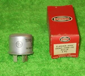 1953 1954 1955 Ford Mercury Lincoln Hudson Studebaker Nos Rotunda 6 volt Flasher