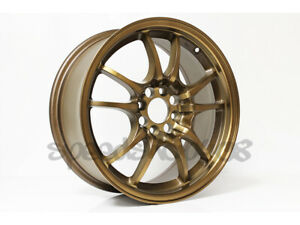 Rota Wheels Circuit 10 Sport Bronze 16x7 40 4x100 Miata Civic Integra