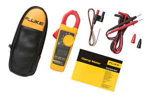 Fluke 324 Digital Clamp Meter True Rms Uk Supplied With Calibration Certificate