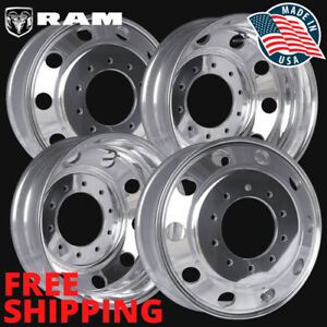 4 40018xp 19 5x6 Ram 4500 5500 Wheel Accuride Polished alcoa Style 10 Lug