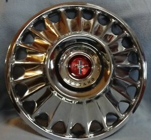 1967 Ford Mustang 14 Hubcaps Wheel Covers C7zz 1130 B Set Of 4 Price Reduced