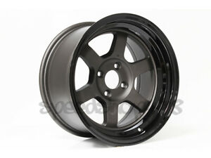 Rota Grid V Wheels Gunmetal Black Lip 15x8 0 4x100 Civic Integra Xb Miata E30