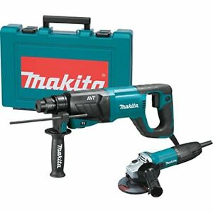 Makita Hr2641x1 Sds plus 3 mode Variable Speed Avt Rotary Hammer With Case And