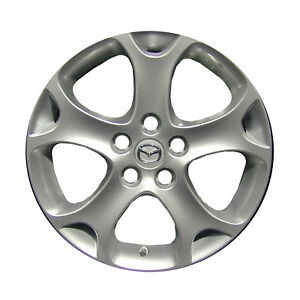 64913 Replacement New Wheel 17x6 5 Medium Silver Sparkle Full Face Painted