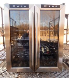 Wine Cooler Thermo electric Double door Excellent Condition Wc 2461h