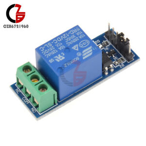 12v One 1 Channel Relay Module Optocouple Board Shield For Pic Avr Arm Mcu