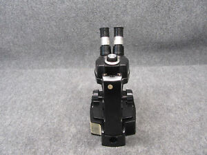 Bausch Lomb B l Stereoscope 4 Microscope W Extended Base working