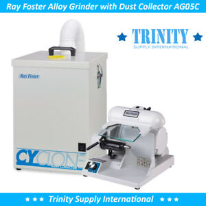 Ray Foster High Speed Grinder Ag05c With Dust Collector Cdc1 Dental Lab New
